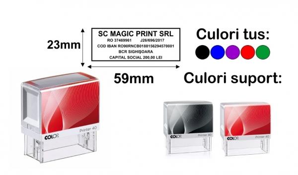 Stampila Printer P40 0