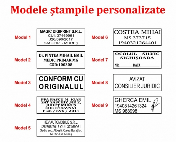 Stampila Stamp Mouse P20 1
