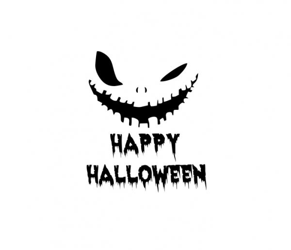 Sticker Auto - Happy Halloween Monster 0