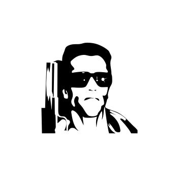 Sticker Auto - Terminator Arnold 0