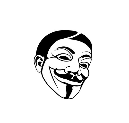 Sticker Auto - Anonymus 2 0