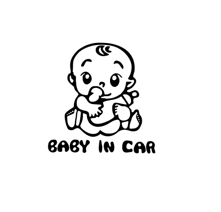 Sticker Auto - Baby In Car 2 0