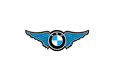 Sticker Auto - BMW Wings 0