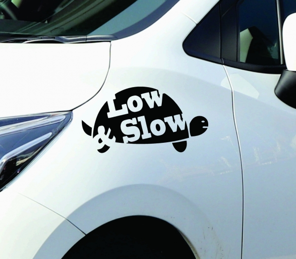 Sticker Auto - Low and Slow 0