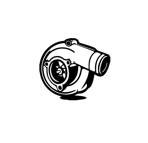 Sticker Auto - Turbo 0