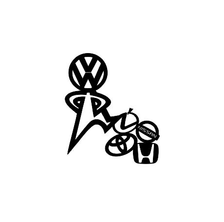 Sticker Auto - VW Up [0]