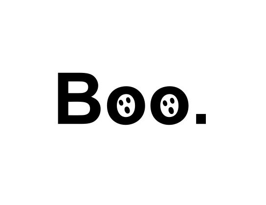 Sticker Auto - Boo 2 0