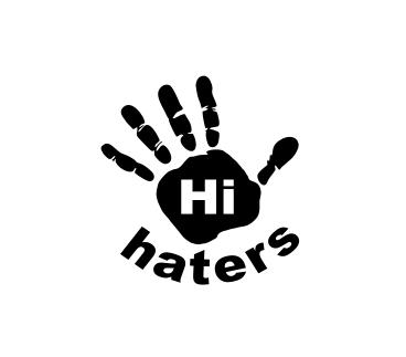 Sticker Auto - Hi Haters [0]