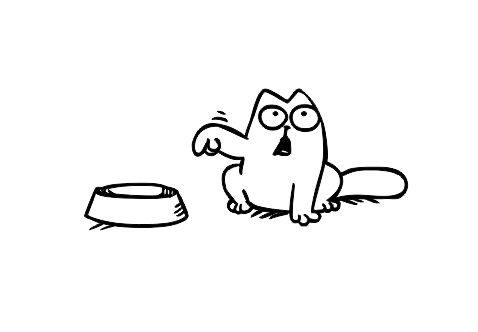 Sticker Auto - Simon's Cat 0