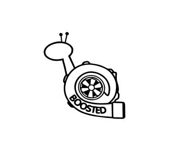 Sticker Auto - Boosted [0]