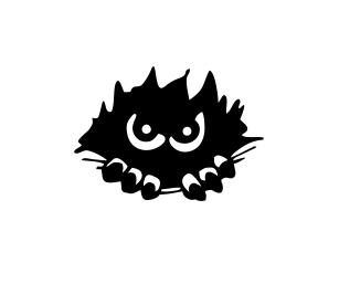 Sticker Auto Peeking Monstru [0]