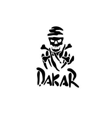 Sticker Auto - Dakar 0