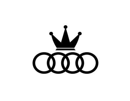Sticker Auto - Audi King [0]