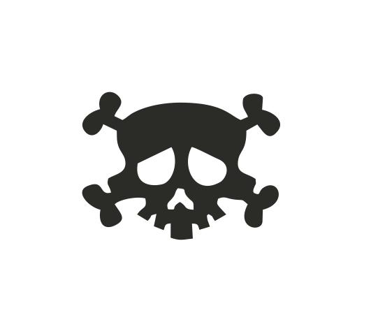 Sticker Auto - Craniu 0