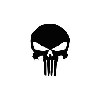 Sticker Auto - Skull 2 0