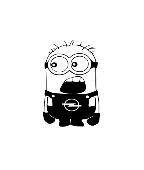 Sticker Auto - Minion 0