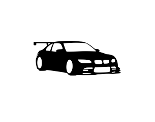 Sticker Auto - Silueta BMW M3 0