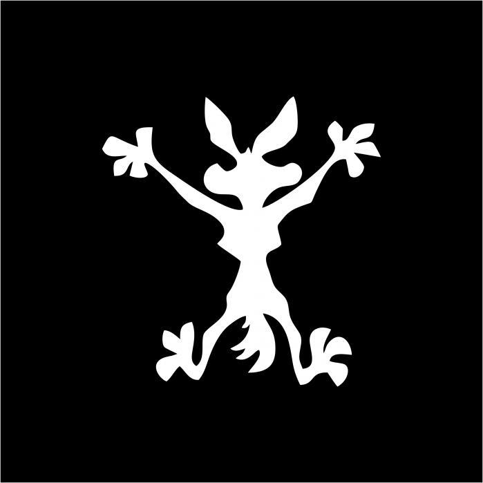 Sticker auto -  Wile-E Coyote [1]