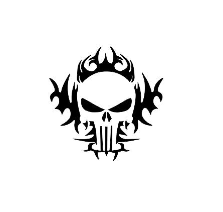 Sticker Auto - Skull 0