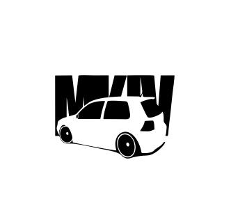 Sticker Auto - VW Golf 2 [0]