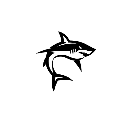 Sticker Auto - Shark 0