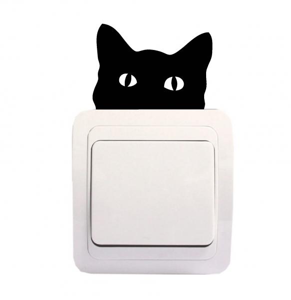 Sticker Decorativ Intrerupator - Pisica 1 [0]