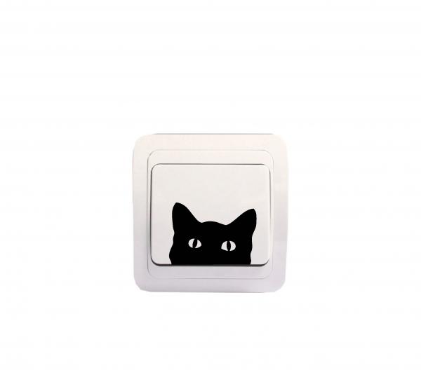 Sticker Decorativ Intrerupator - Pisica 1 [1]