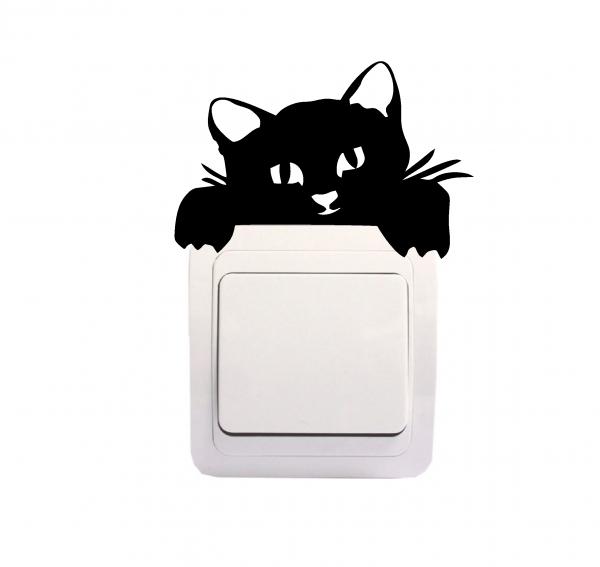 Sticker Decorativ Intrerupator - Pisica 2 0