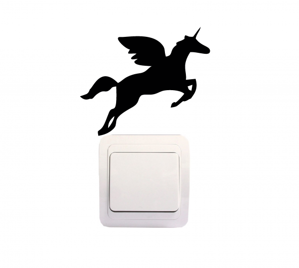 Sticker Decorativ Intrerupator - Unicorn 0