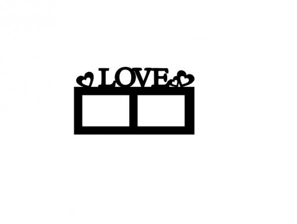 Sticker Rama Foto Love [2]