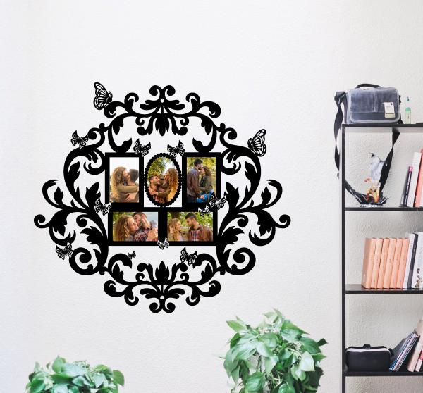 Sticker Rama Foto Floral 0