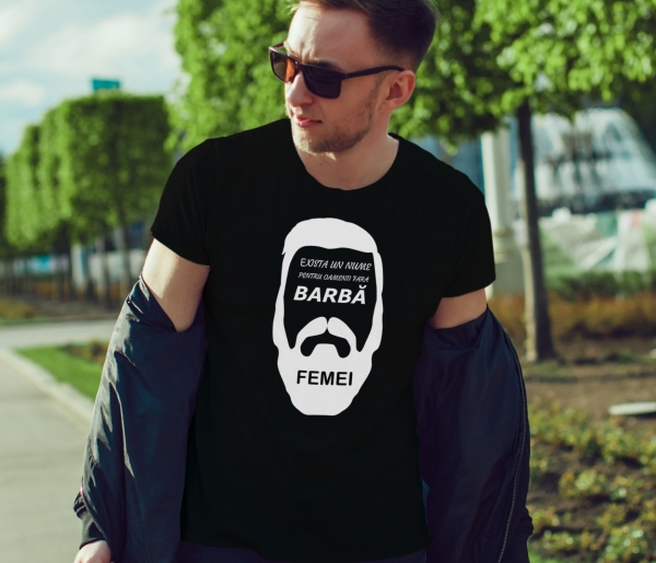 Tricou - Barbatii fara barba 1
