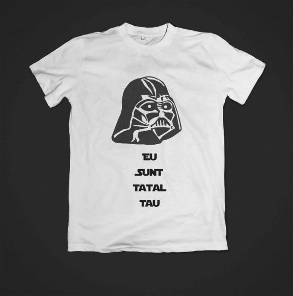 Tricou - Eu sunt tatal tau 0