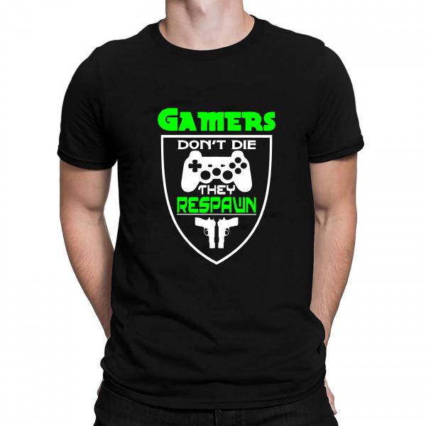 Tricou - Gamers Respawn 0