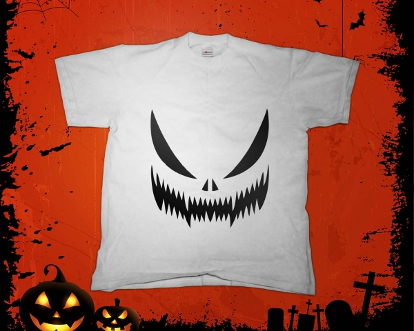 Tricou - Halloween Scary Smile 0