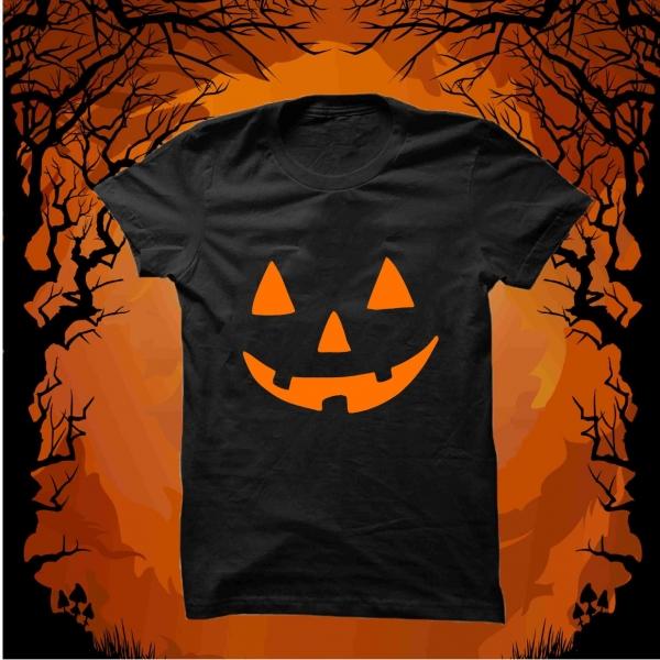 Tricou Personalizat - Halloween Smile 4 0