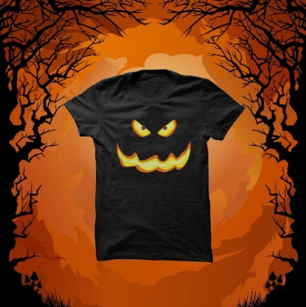 Tricou Personalizat - Halloween Smile 5 [0]