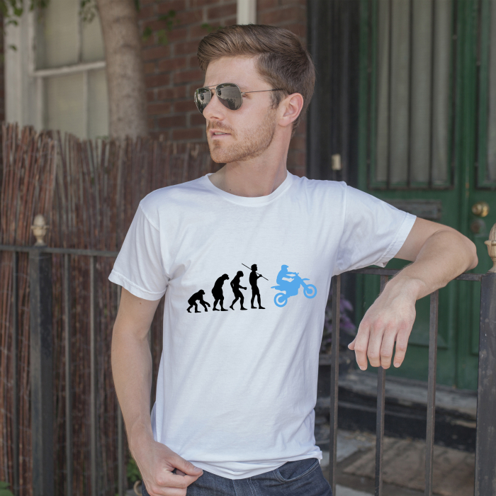 Tricou Moto - Evolutie [1]