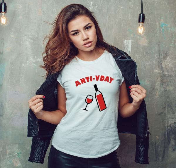 Tricou Personalizat - Anti V-Day 0