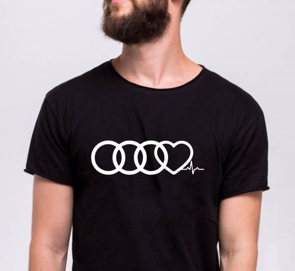 Tricou Personalizat Auto - Audi Life 0