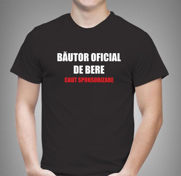 Tricou Personalizat - Bautor Oficial De Bere 1