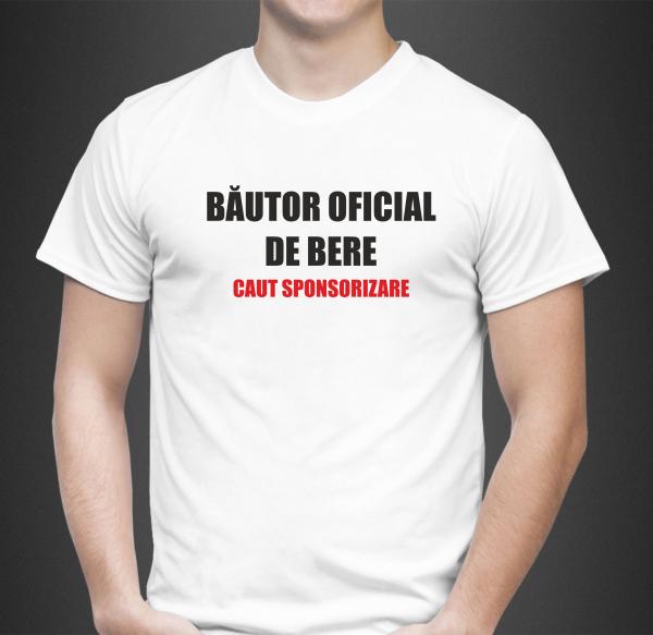 Tricou Personalizat - Bautor Oficial De Bere 0
