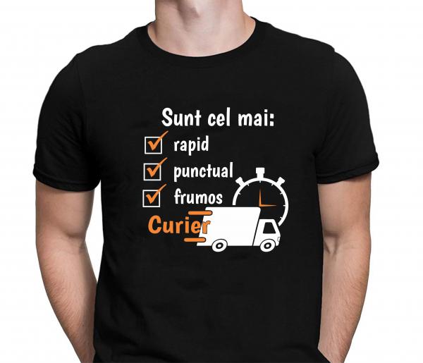 Tricou Personalizat - Cel Mai Rapid, Frumos Si Punctual Curier 0