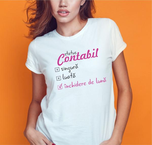 Tricou Personalizat Contabil - Inchidere De Luna 1