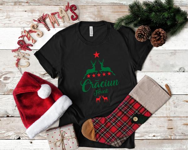 Tricou Personalizat Craciun - Craciun Fericit 1