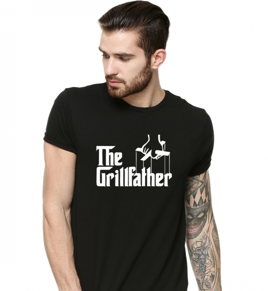 Tricou Personalizat - The Grillfather 0