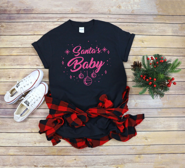 Tricou Personalizat Craciun - Santa's Baby 0