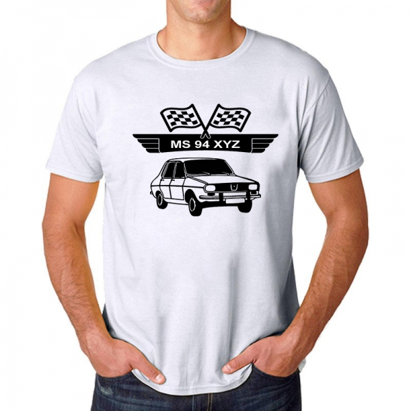 Tricou Personalizat cu nume sau numar auto - Dacia 1310 [1]