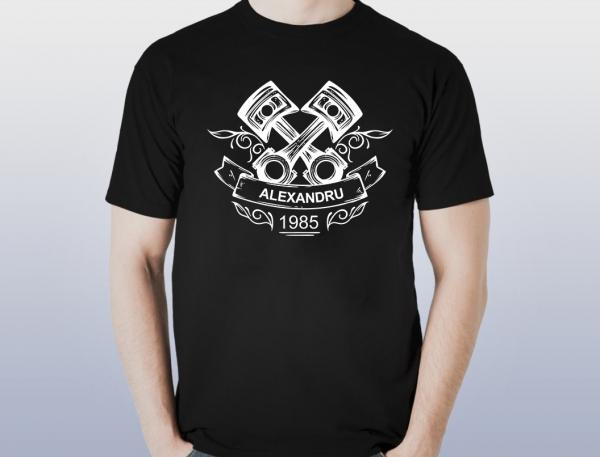 Tricou Personalizat Auto - Nume si Anul Nasterii 0