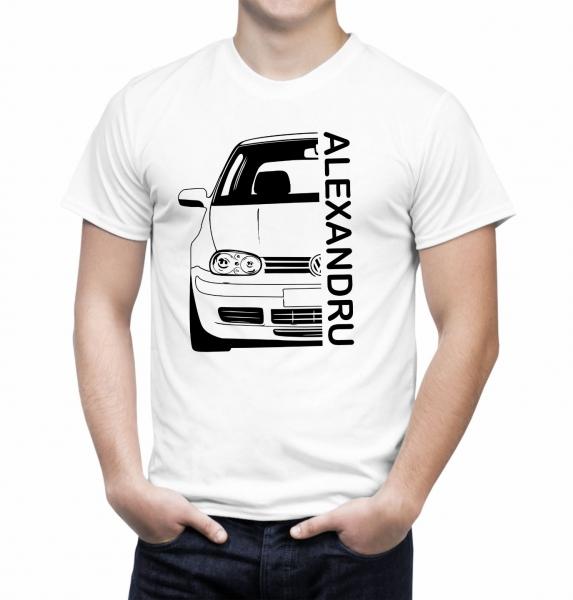 Tricou Personalizat cu nume sau numar auto - Volksvagen Golf IV 2
